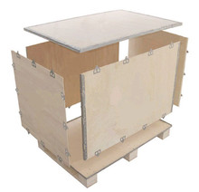 With Plywood pallets Wooden Packaging Crate For Machinery