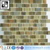 23X23MM Thought good construction materiaL marble mosaic glass mosaic mix
