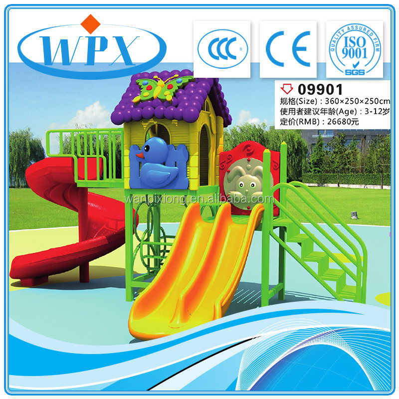 Customized theme children outdoor mini playground project
