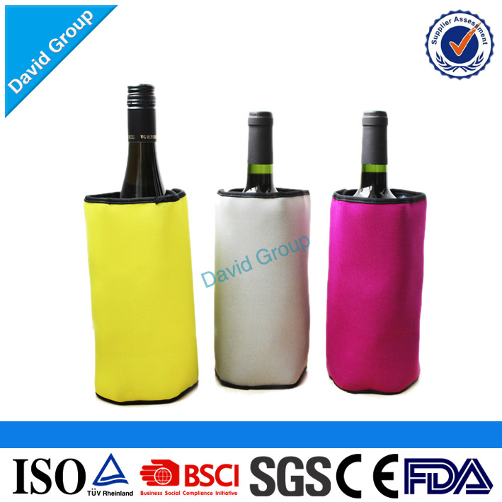 Plastic Wine Gel Cooler Ice Bags