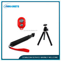 selfie stick with bluetooth shutter button ,LF-051 portable mobile phone selfie shutter , android tv box remote control