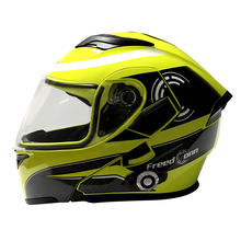 Flip up Motorcycle Helmet with Bluetooth Full Face Casco Modular Dual Shield Bluetooth Helmet
