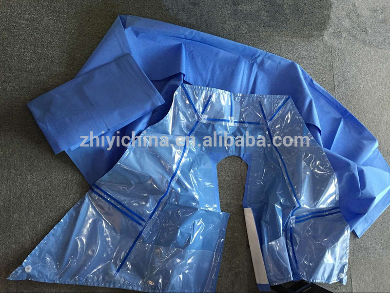 Disposable surgical orthopedic drape pack