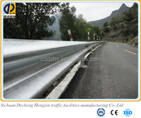 metal galvanized 3.0mm or 4.0mm thickness decorative highway guardrail suppliers