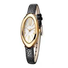New arrival fashion irregular face royal diamond watches for women