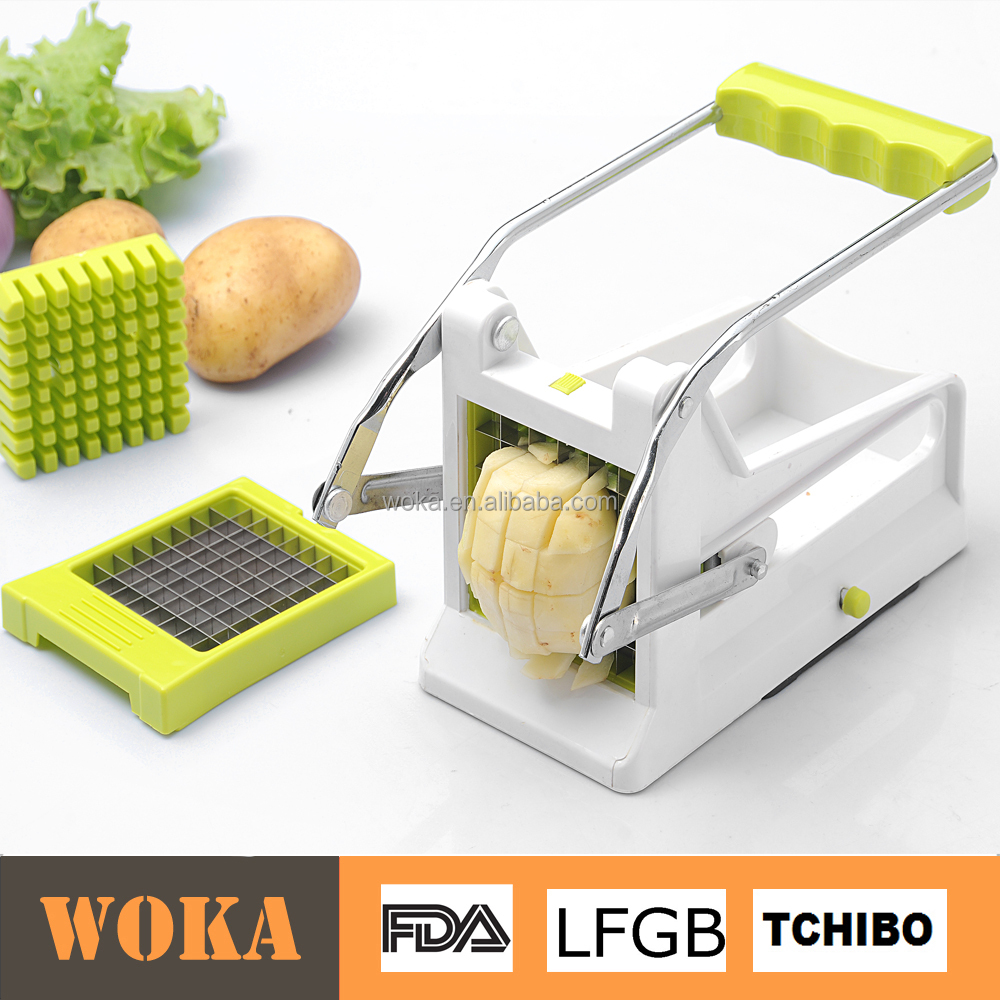 Amazon Hot selling Potato Cutter Manual Potato Chipper French Fry Cutter