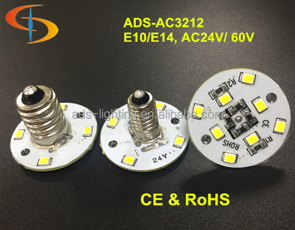 60v 24v White SMD2835 E10 E14 Amusement Led Rides Led
