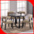 2015 high quality wood round dining table/wooden round table and chair