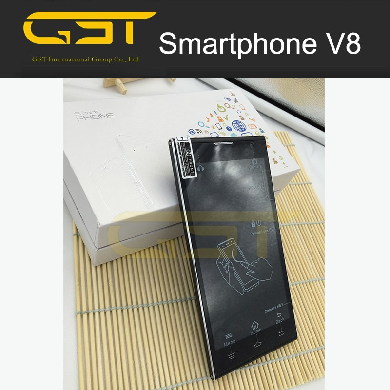 V8+ Cheap OEM Smartphone 5inch 3g Android Low end phone