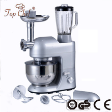 China Kitchen Appliances Commercial Multifunction stand food mixers 5L