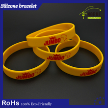 Pokemon go plus wrist band bracelet promotional soft Stretch Silicone rubber band