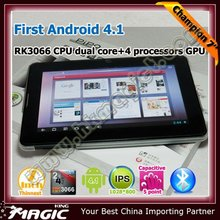 Excellent android 4.1 1GB DDR3 7 inch tablet pc with usb port