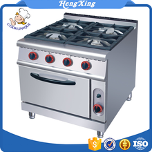 Stainless Steel commercial industrial 4 burners gas stove cooking range brands prices pakistan