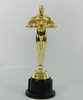 Best selling plastic oscar trophy awards 18.5cm/Oscar trophy whoesale/Figure Oscar trophy