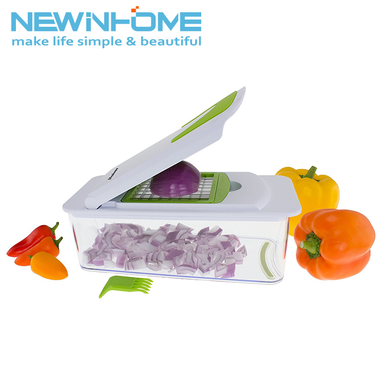 Vegetable Dicer Set Plastic Easy Home Hand Amazing Chopper