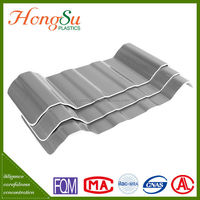 Chinese Heat Insulation 4 Layer PVC Recycled Corrugated Plastic Roof Tile