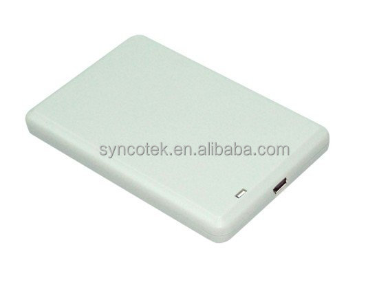 RFID reader writer with built-in antenna , mini USB UHF reader