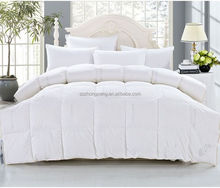 Home textile any size goose feather down duvet manufacturer
