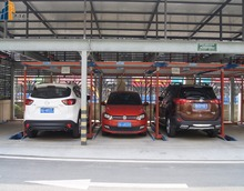 Parking Plate Type CE Certification Stereo Garage 2 Post Design Smart Parking System/Parking System Project