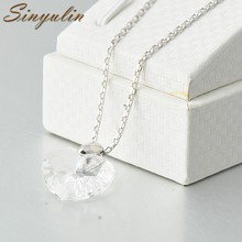 Newest Design Heart Pattern American Diamond Women Necklace Sets Crystal Necklace 60011813