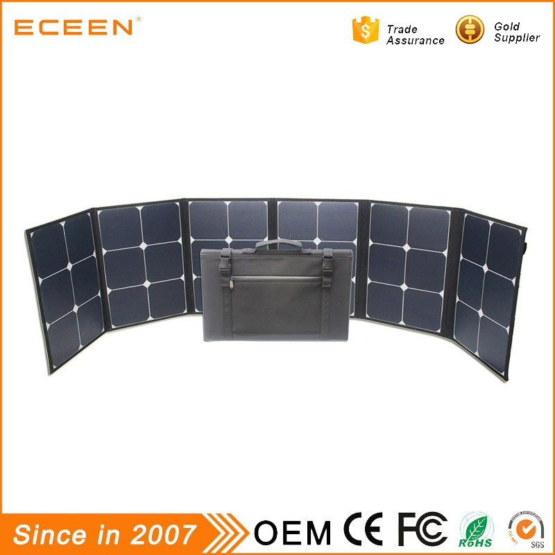 2017 New product 120W low price mini photovoltaic folding solar panel