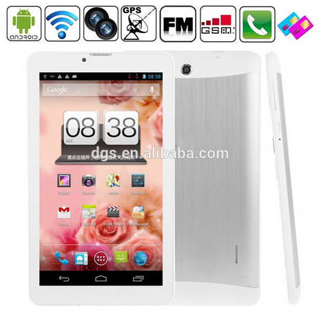 "HD Google Android 4.2 7"" Dual-Core dual core with 3g wifi android tablet"
