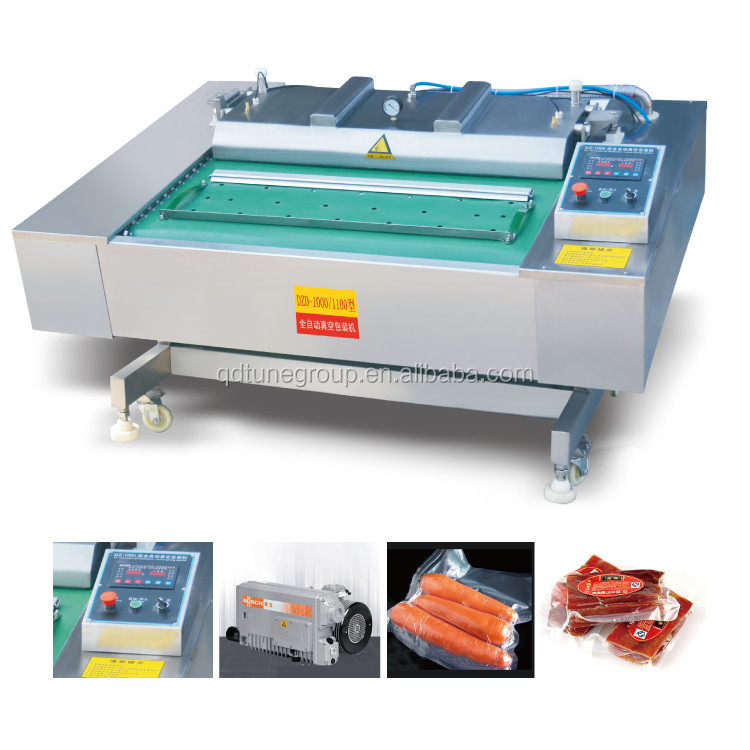 Fully automatic continuous rolling multi-functional vacuum sealing packing machine