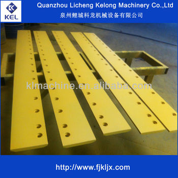 Heat Treating Bulldozer Cutting edge
