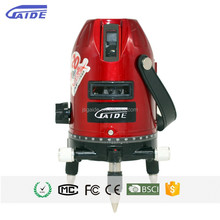 5 multi red line automatic self leveling rotation 360 horizontal and vertical direction laser levels digital laser level usa