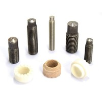 Tapped Reduced Base MS Mid Steel Drawn Arc Welding Screw