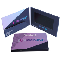 Promotional Lcd Video Brochure Card Lcd