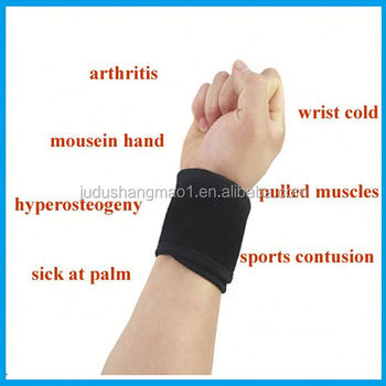 custome weight lifting woven elastic wrist wrap