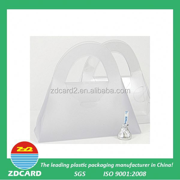 ZDcardtech ltd hot sell promotion clear plastic cake box packaging with high quality