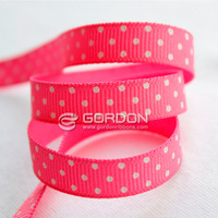 dots ribbon DECORATIVE SATIN RIBBON FOR FESTIVAL/ FACTORY SUPPLIER dots print ribbon