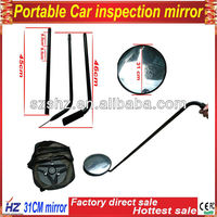 Traffic Safety Under Car Inspection Mirror with LED light