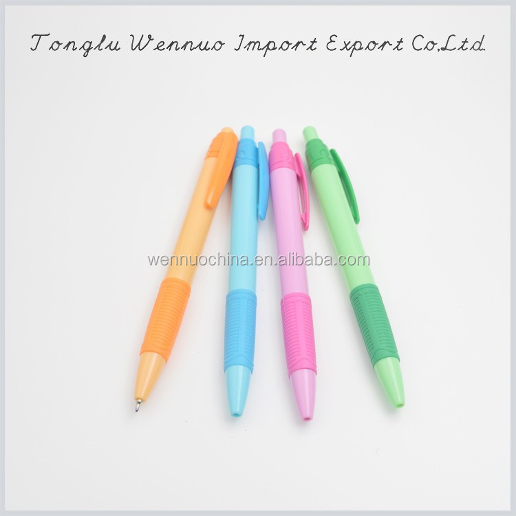 China office products colored ball pen tips