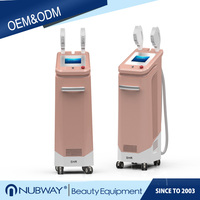 Stationary Vertical Ipl Beauty Equipment SHR