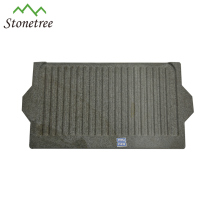 Rectangular cooking lava stone plates