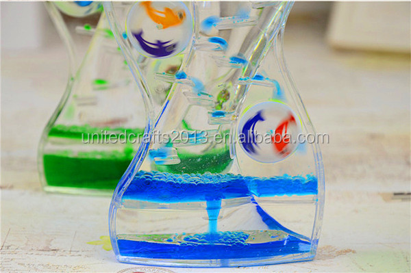 Color Mix Liquid rotation hourglass Motion Timer Visual Autism ADHD thinking time out