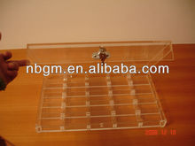500 pc Acrylic Poker Chip Rack With Cover