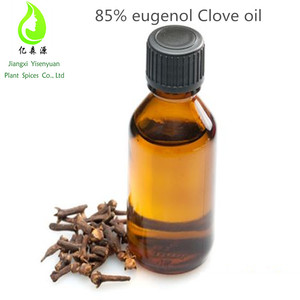 Top Supplier 85% eugenol Clove oil price CAS 8000-34-8 With Bactericidal Effect