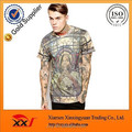 Fashion full print men's t shirt printed sublimation t shirt design personality t-shirt