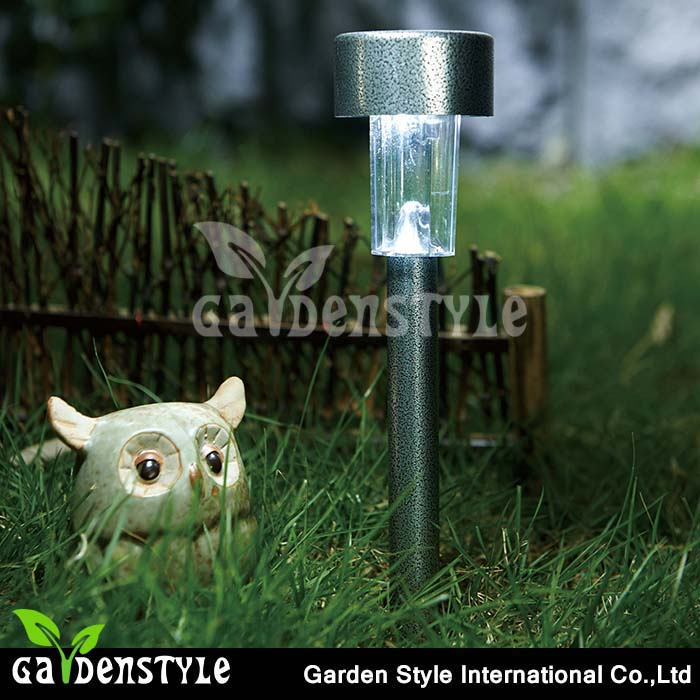 led light manufacturer Pathway Garden Lamp white led light factory low price led solar garden light
