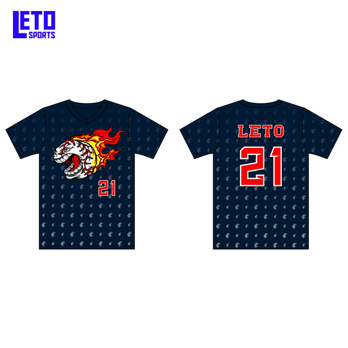 Custom Your Own Design Printing Baseball Shirts
