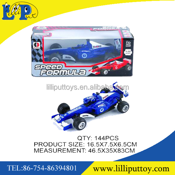 1:32 popular metal pull back formula car toy