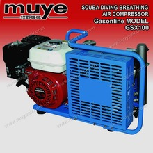 auto-shutdown 225 bar scuba diving breathing air compressor model GSX100 type GSX100 07022017