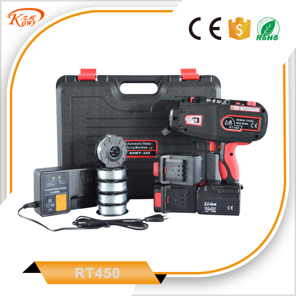 Good supplier machine tie wire reel tier automatic china rebar tying gun