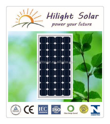 High Efficiency 100w Mono Sola Panel For Sale with TUV IEC CE CEC ISO INMETRO certificates