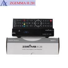 new version image OpenPLI ZGEMMA H.2H Combo Satellite Receiver HD DVB-S2 DVB-T2/C