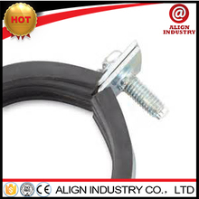1/4 to 10 inch pipe clamps galvanized heavy duty pipe clamp low price fixing hose clip
